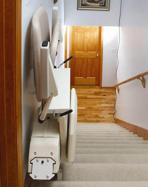 Key locking system for Stairlifts